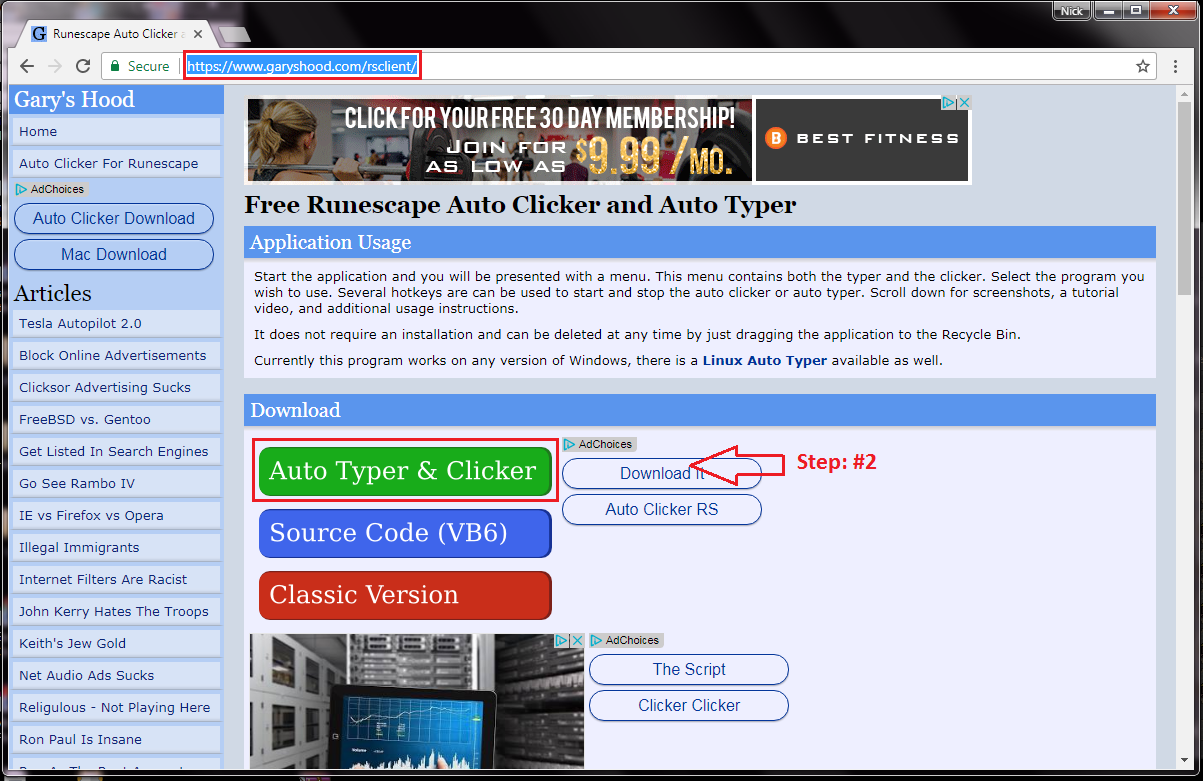 Rs-client or Auto type! - Programming - SpawnPK - Spawn Server